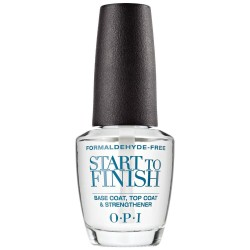 OPI Start To Finish Base Coat, Top Coat & Strengthener